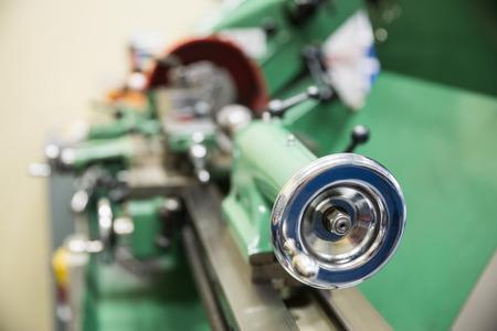 heavy machinery: Close up de maquinaria pesada en la universidad Foto de archivo