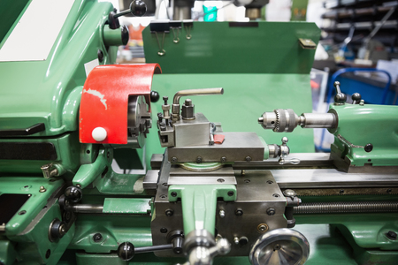 maquinaria pesada: Close up de maquinaria pesada en la universidad Foto de archivo
