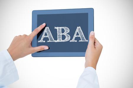 Słowo aba przeciw lekarce używa pastylka komputer osobistego