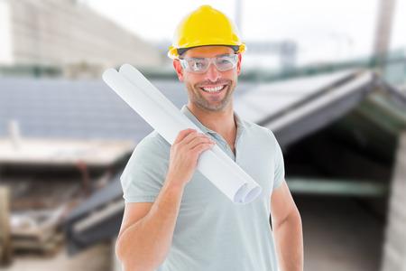 arquitecto: Arquitecto con el plan contra el taller