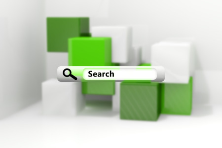 against abstract: Search engine  against abstract background Stock Photo