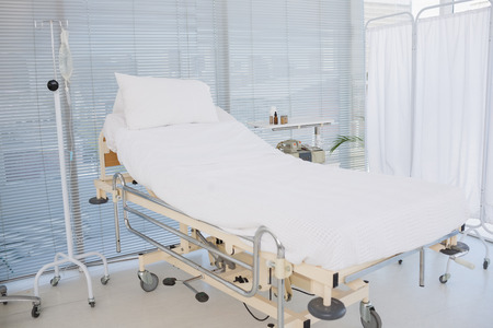 Empty room in hospital