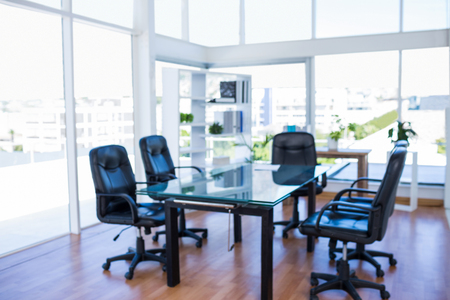 swivel: Meeting room with back swivel chair in office