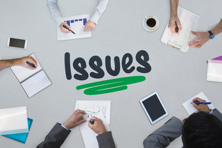 noting: The word issues against business meeting