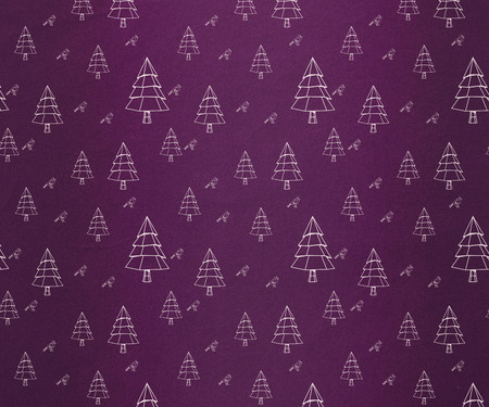 digitally generated: Digitally generated Christmas tree pattern wallpaper
