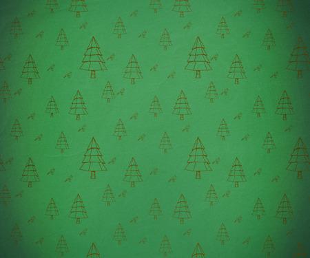 christmas wallpaper: Digitally generated Christmas tree pattern wallpaper