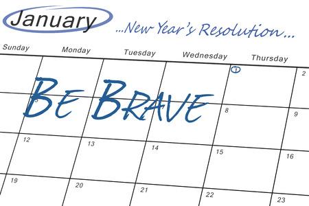 new years resolution: new years resolution against january calendar