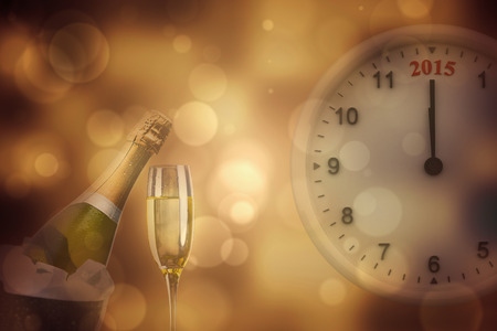 against the clock: 2015 clock against sparkling wine