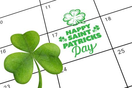 saint patty: patricks day saluto contro Calendario Gennaio