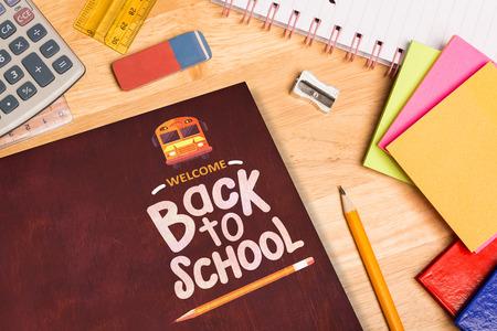parer: back to school against students desk