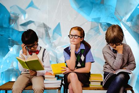 angular: School kids against angular design