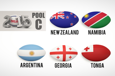 world cup: England rugby 2015 message  against rugby world cup pool c