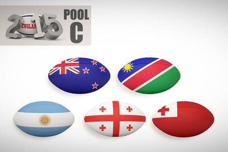 world sport event: England rugby 2015 message  against rugby world cup pool c