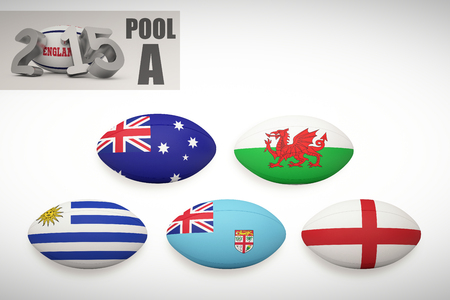 world cup: England rugby 2015 message  against rugby world cup pool a