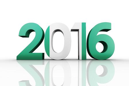 trouser legs: 2016 graphic against nigeria national flag