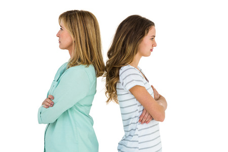 huffy: Mother and daughter are angry after a dispute