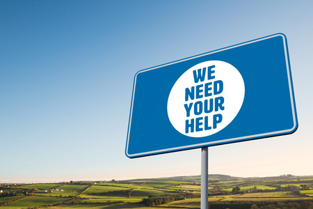 need: We need your help against scenic landscape