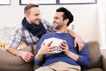 Gay At His Room