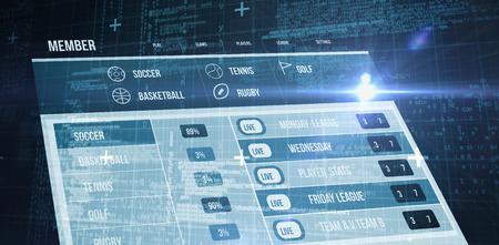 matrix: Blue matrix and codes against gambling app screen