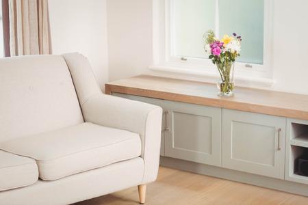 modern living: Sofa in a modern living