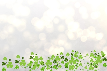saint patty: Picture of shamrock for st patricks day Stock Photo