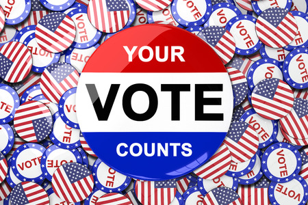 vote button: Vote button against vote button