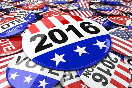 vote button: Vote button against badge vote 2016