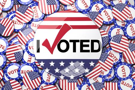 Vote button against vote button