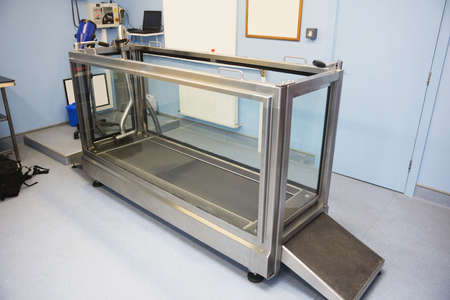 hydrotherapy: Pet Hydrotherapy treadmill in vets clinic LANG_EVOIMAGES