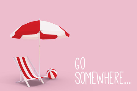 somewhere: Go somewhere against white background with vignette