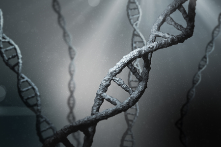 View of dna Stock Photo
