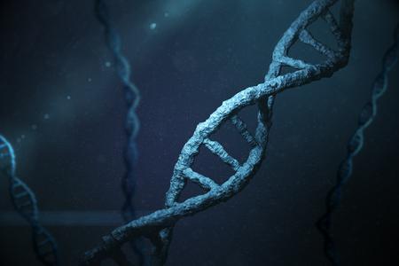 Immagine della forma elica del DNA Archivio Fotografico - 55098701