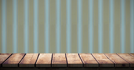 abode: Wooden desk against background Stock Photo