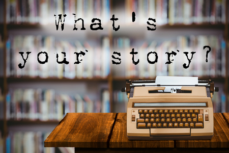 graphic novel: A sentence  against library shelf