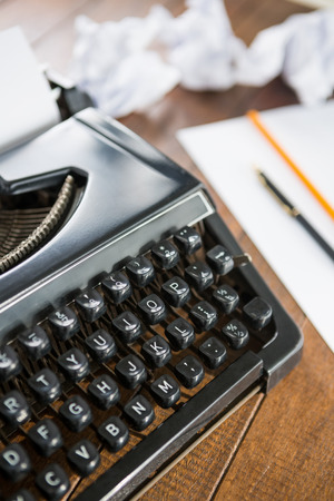 collectable: Typewriter on a desk