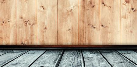 wooden planks: Grey parquet against wooden planks