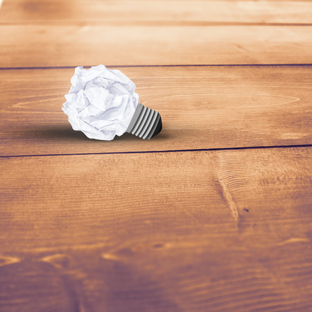 Tissues: Used tissues against bleached wooden planks background Stock Photo