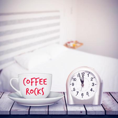 domicile: coffee rocks against bedroom