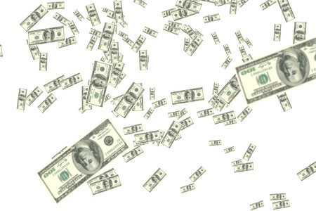 dollars falling