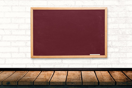 acclamation: Chalkboard against a white wall