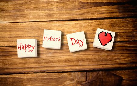 frase: corazón de la pena para el día de madres