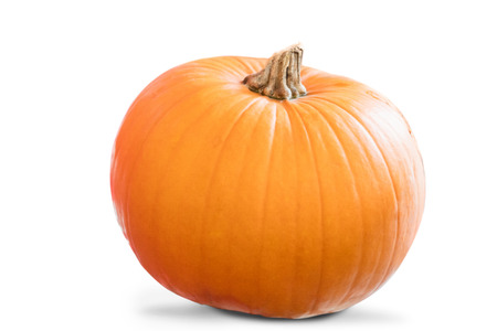 uni: Image of a pumpkin on a white background