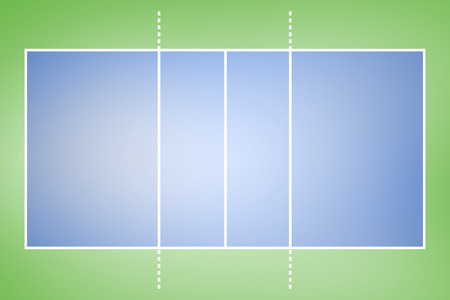 vignette: Green vignette with blue Stock Photo