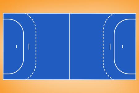 vignette: Orange vignette in orange background