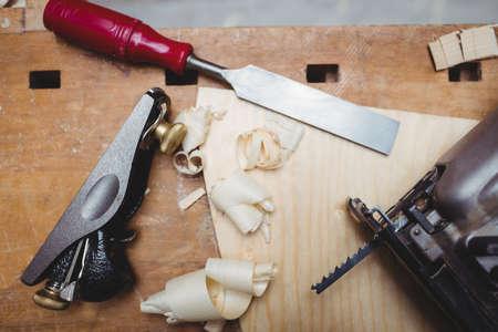 herramientas de carpinteria: Cierre de herramientas de carpinter�a