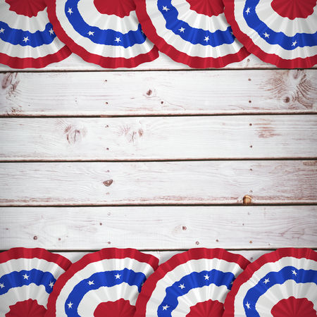wooden circle: Focus on circle against wooden planks