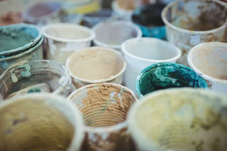 messy: Messy containers at workshop