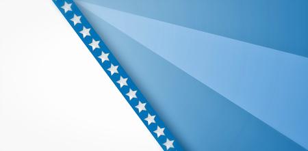 digitally: Digitally generated stripe against focus on blue background