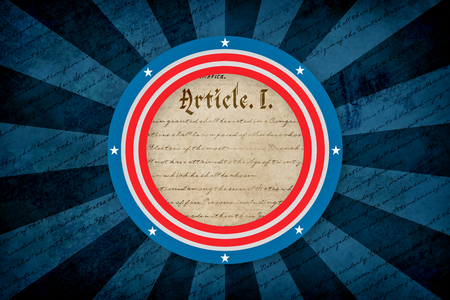 declaration: declaration of independence against focus on circle