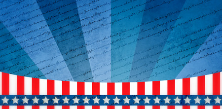 declaration: declaration of independence against digitally generated background